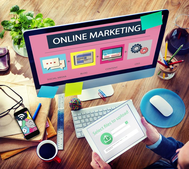 ¿Está disponible el marketing online sólo a través de la formación online?