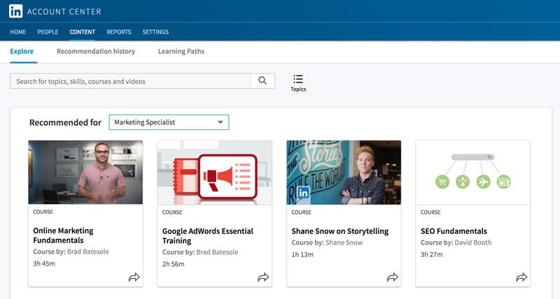 LinkedIn Learning: Formación online en la red social de profesionales