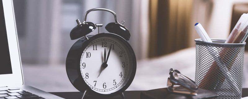 formación online y tiempo
