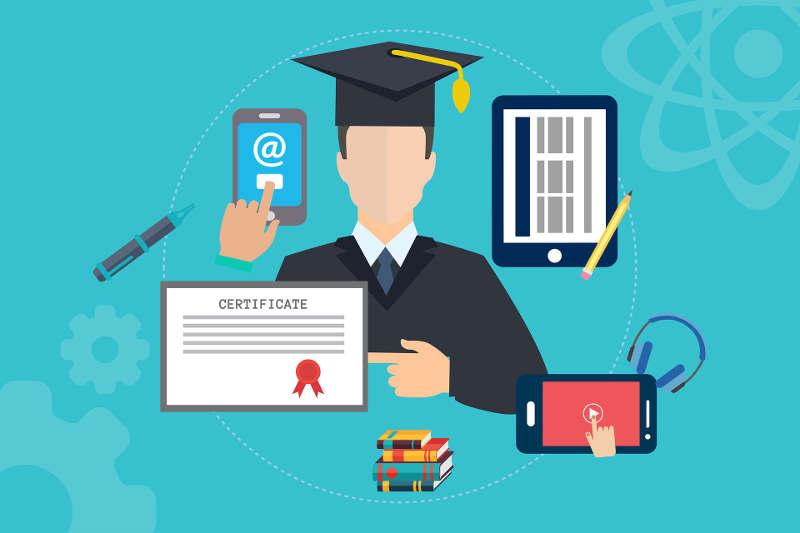 Formación mixta: Formación online conjunta con formación universitaria
